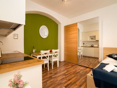Photo for Soukenicka Apartcomplex  Blossoming Yard CZPR60 - Aparthotel for 2 people in Praha