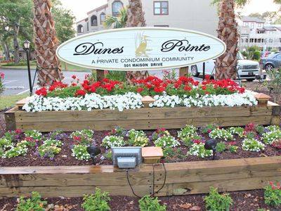 Photo for Dunes Pointe E19, 3 Bedroom, 2 Bath - Lake View & Private Beach Cabana!