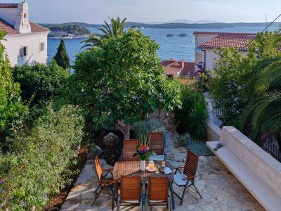 Photo for Newly Restored Stone House with Sea View and Garden