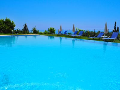 """Photo for Studios and Apartments with pool in Pelekas Beach """"adonis"""""""