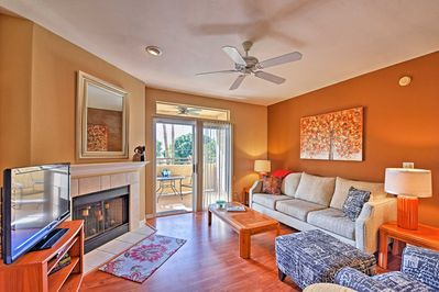 Make yourself at home inside this bright and airy 1,082-square-foot unit.