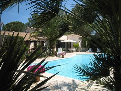 Photo for Nice villa at the foot of the Esterel 10 minutes from St Raphael and Port Frejus.