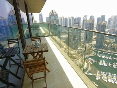 Photo for Spectacular 1 Bedroom ~ Dubai Marina & Full Marina View