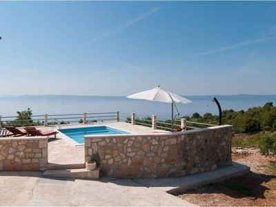 Photo for Amazing & Unique, Island 3-stone house ranch, 300m from Sea, Pool, BBQ, Wifi