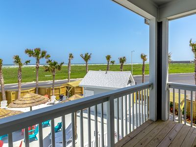Photo for Brand-New 3BR/2.5BA Padre Beach Townhome, Walk to Gulf