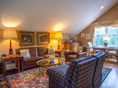 Photo for Stately condo in a rural location north of Stowe. 11 miles from Stowe Resort!