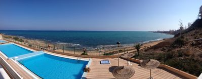 Photo for Costa Blanca - Torrevieja - Stunning views of the sea - 3 pools - Quiet