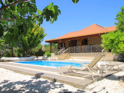 Photo for Private peaceful enclosed Villa with own Pool, Free Wifi and Extensive Gardens
