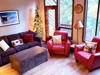 Photo for Mount Baker --Beautiful 2 bdrm River Resort Condo w/ 2 Indoor Pools & Hot Tubs!
