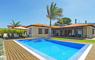 Photo for Modern holiday villa with private pool