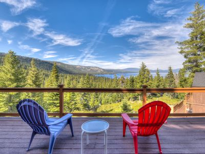 Photo for Chamberland Getaway: 2 miles from Homewood, filtered lake views on BBQ deck