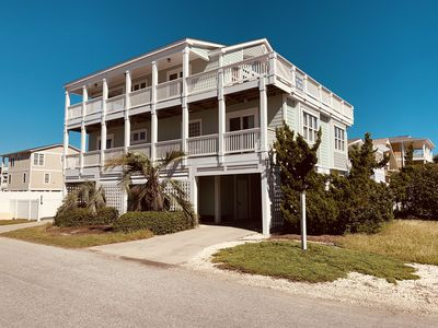 """Photo for """"Star of the Sea""""  -  BEACHFRONT & WTRWAY VIEWS W/ Htd. Pool, Prv. beach access"""