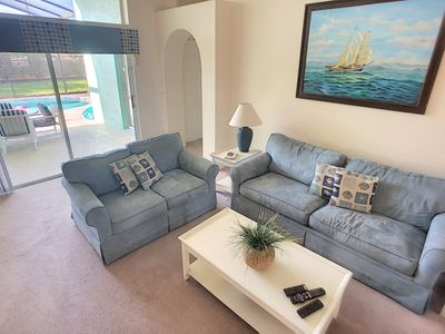 Photo for Luxury on a budget - Indian Ridge - Feature Packed Relaxing 3 Beds 2 Baths Villa - 3 Miles To Disney