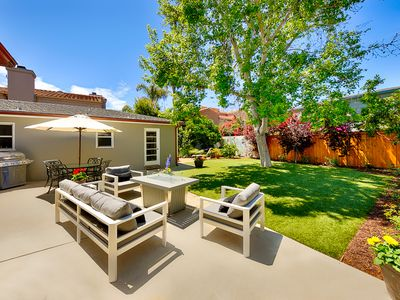 Photo for 25% OFF SEP - Cute & Sunny Home w/ Large Private Yard - Steps from the Beach