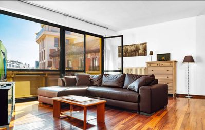 Photo for Modern 2 BDR + Big Terrace in Brera - Milan