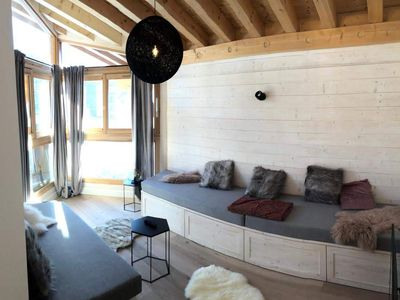 Photo for Apartment Mountain / Ski - La Rosière - 60 m² - 8 peop.