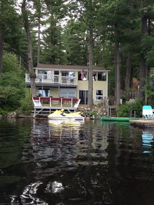 Photo for Peaceful Lakefront Cottage On Quiet Forest Lake 3 Bd/2 Bathrooms