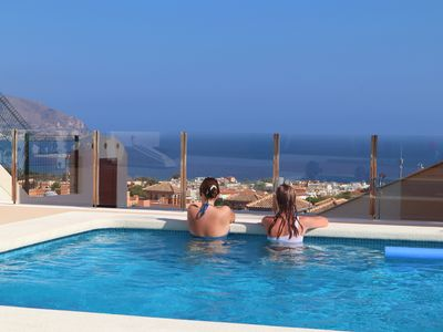 Photo for Private pool and amazing sea view.