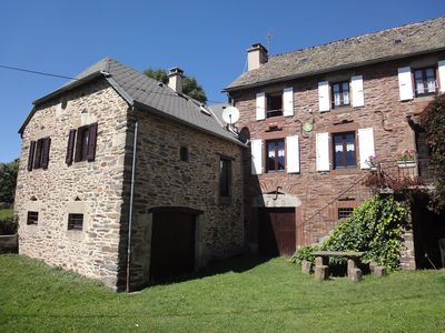 """Photo for Very beautiful rustic cottage in AUBRAC, """"Gîte Rose"""" (2 to 6 people)"""
