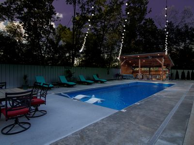 Private,  pool, spa, sand volleyball, close to wineries, pool table, horseshoes
