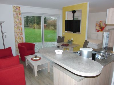Photo for 'Wasserburg Turow': Apartment for up to 3 guests (with extra bed)