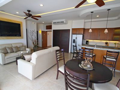 Photo for Ultimate Luxury - Beautiful 3 bedroom Penthouse Condo - Private rooftop palapa