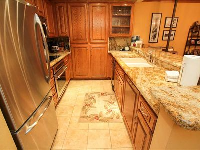 Photo for Mountainback Condo #17 Heated kitchen floors! One story 3 bedroom 2 bathroom unit.