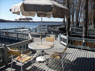 pier and deck area