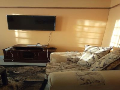 Photo for letting this air conditioned2 bedroom fully furnished apartment at lower kabete