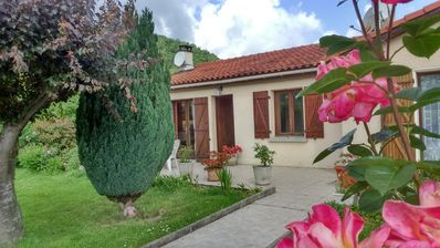 Photo for House at the foot of the Pyrenees for family vacations, in a quiet area.