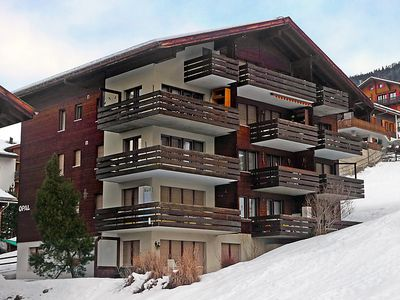Photo for One bedroom Apartment, sleeps 4 in Grächen with WiFi