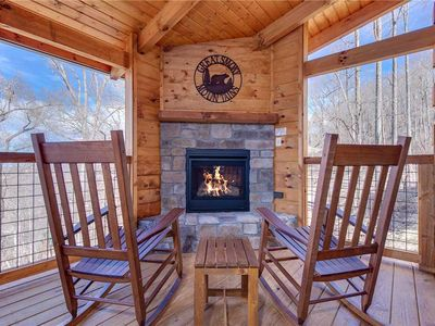 Photo for Lasting Impressions, 3 Bedroom, Hot Tub, Fireplace, Pets, WiFi, Sleeps 12