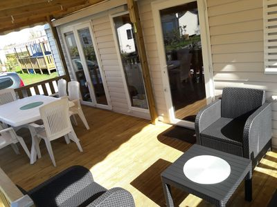 Photo for Air-conditioned mobile home 6/8 persons Les charmettes 4 *