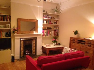 Photo for Charming Arts and crafts 2 bed home. Wifi. Garden. Overlooking playing fields.