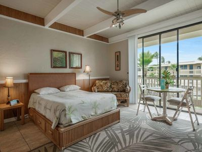 Photo for Island Vibe w/Kitchen+Laundry Ease, Lanai, WiFi, TV, AC, Ceiling Fan–Kona Bali Kai 363