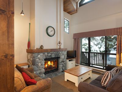 Whistler Three Bed Townhome Steps to ski and village