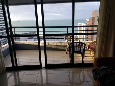 Photo for MEIRELES. EXCELLENT FLAT WITH SEA VIEW. CLOSE TO EVERYTHING.