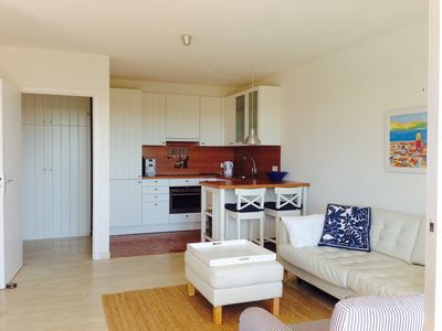 Photo for Luxury apartment with stunning views 200 meters of beach.