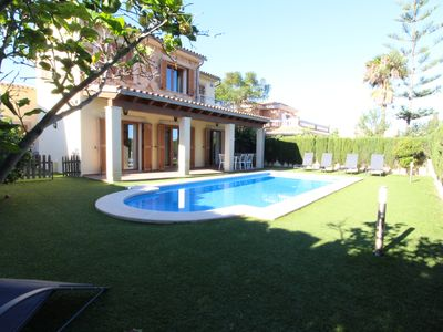 Photo for Villa Puerto Adriano with Private Pool and 5 min walk from the Beach