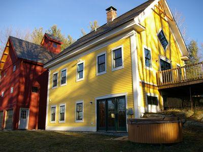 Photo for 5BR Farmhouse Vacation Rental in Wolcot, Vermont