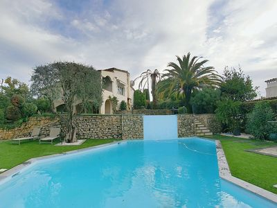 Photo for Villa Hauteurs Cannes 4 chambres piscine