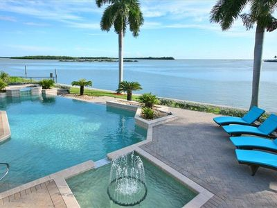 Sunny, Sparkling, Inviting Pool and Hot Spa. With Ocean & Bay Views.