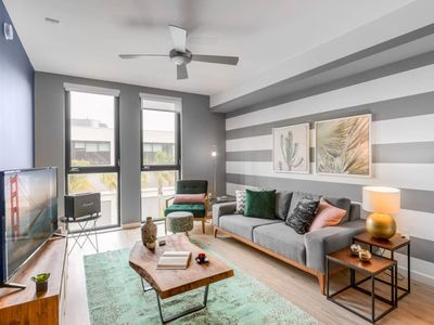 Photo for Sharp 1BR SoMa w/ Gym, A/C, dog run + game room by Blueground