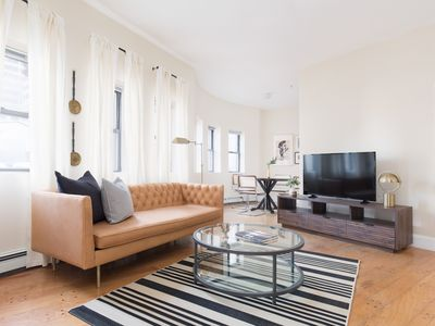 Photo for Unique 1BR in Financial District by Sonder
