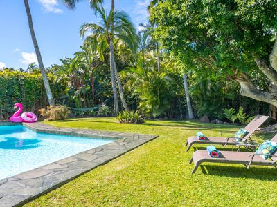 Photo for *15% discount on stays during 4/17-6/14* Hale Niuiki - Beautiful home with a private pool!