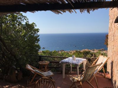 Photo for Sardinia, Costa Paradiso: detached house in the green with 180 ° sea view
