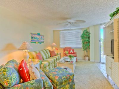 Photo for Oceanfront Condominium with Community Pool. Enjoy St Simons Sunsets via Private Boardwalk