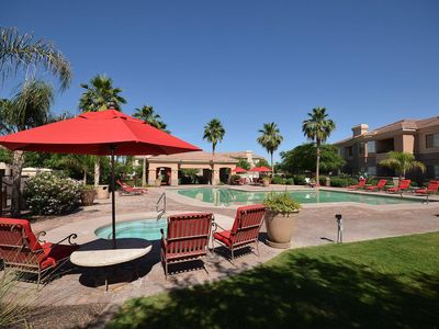 Photo for Mesa Luxury Resort Condo - 2 Pools - Hot Tub - Gym - Grills - Business Centre
