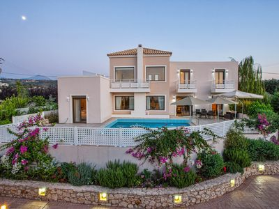 Photo for Piece & Quite at Pool Villa Antonios 6 km from Beach.