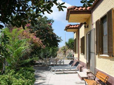 Photo for The real Italy! Large private villa in a peaceful countryside location-sleeps 8+